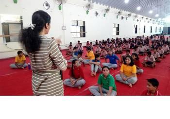 IYD2017 - kids yoga class